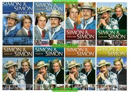 Simon & Simon The Complete TV Series Seasons 1 2 3 4 5 6 7 & 8 DVD Set New 1-8 - $67.00