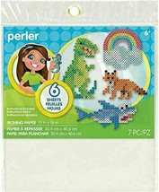 Perler Ironing Paper Beads Crafts for Kids, 12'' x 16'', 7 Pieces - $5.79