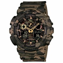 Casio G-Shock Analog-Digital Green Dial Men's Watch - GA-100CM-5ADR (G580) - $184.18