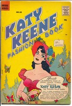 Katy Keene Fashion Book #20 1958-Bill Woggon-fashions-pin-ups-paper doll... - $63.05