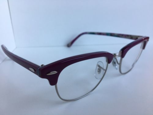73ad9ec196 New Ray-Ban RB 5154 RB5154 5652 49mm Silver Women Clubmaster Eyeglasses  Frame
