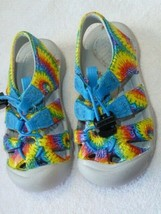 Tie Dye Keen Keens Sandals Unisex Boy Girl Baby Toddler 5 9-12-18 mos - $26.72