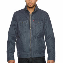 Levi's Cotton Military Jacket Men's  X-large  Blue #461 - $59.99