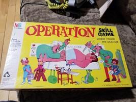 Vintage Operation Game Smoking Doctor 1965 Milton Bradley   - $19.79