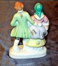 Man and Woman Figurine (Japan) AA18-1201 Vintage image 2