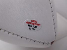 TROY POLAMALU / AUTOGRAPHED PITTSBURGH STEELERS LOGO WHITE PANEL FOOTBALL / COA image 5