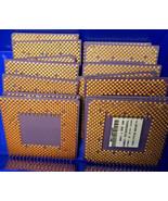 8.6ozs Gold Scrap Ceramic CPU for Gold Recovery  - $75.00