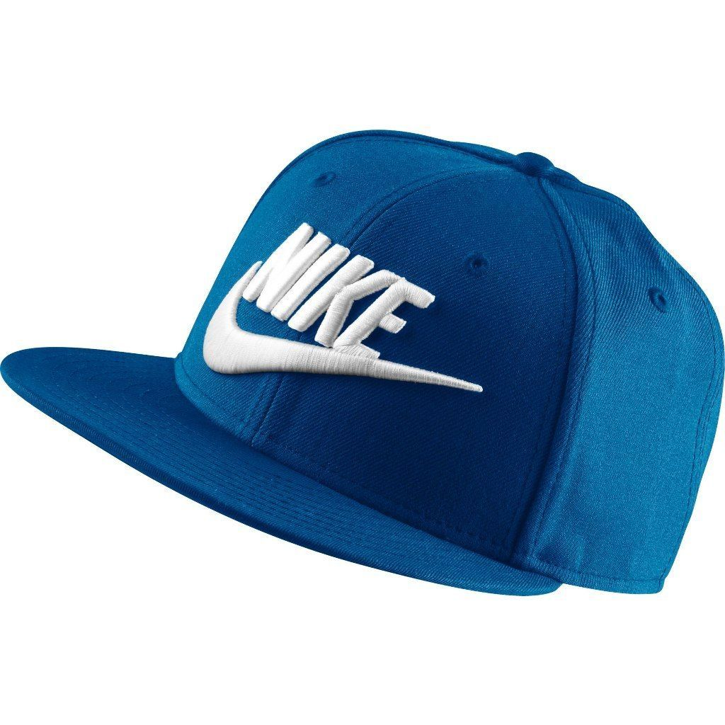 Primary image for Men's Nike Futura True 2 Snapback Hat  blue jay/black/white 584169 433