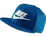 Men's Nike Futura True 2 Snapback Hat  blue jay/black/white 584169 433