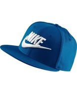 Men's Nike Futura True 2 Snapback Hat  blue jay/black/white 584169 433 - £24.48 GBP
