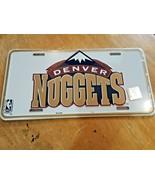Vintage Denver Nuggets NBA Logo Metal License Plate - $14.64