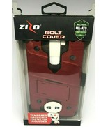 Zizo Bolt Cover Red For LG LS775 Tempered Glass Screen Protector Included - $14.01