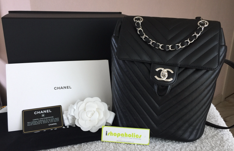 942a7003a0ce Chanel Small Urban Spirit Chevron Backpack and 48 similar items