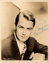 Alan Ladd Vintage Autographed Autograph Signed Hollywood Film Movie 8x10... - $275.00