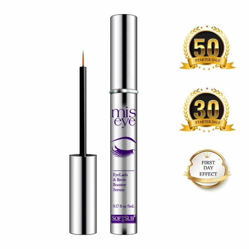 Natural Eyelash Growth Serum By Softsub, For Voluminous Long Brow  Thicker Lash