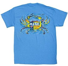 Men's Officially Licensed Old Bay Ripped Crab T-Shirt (XX-Large, Heather... - $21.79