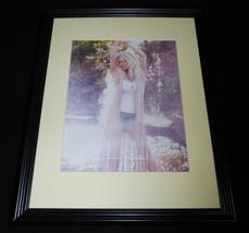 Jessica Simpson Apparel 2016 Framed 11x14 ORIGINAL Advertisement - $32.36