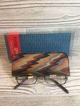 Foster Grant Reading Glasses +1.00 Compact Reader With Designer Case - $4.95
