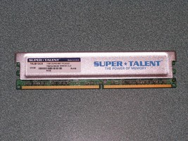 Super Talent 1GB DDR2-667 PC2-5300 T6UB1GC5 - $11.63