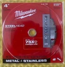 """Milwaukee 49-93-7800 4"""" STEELHEAD Diamond Cut-Off Blade - $11.88"""