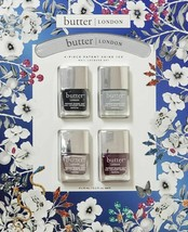 Butter London Fog Brolly Iced Lolly Pash 4-Pc Patent Shine 10x Nail Lacquer Set