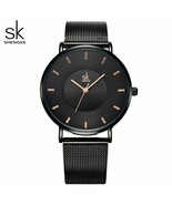 SK® Watches Simple Women Watches Ladies Wristwatch Ultra Thin Quartz Watch - $30.56