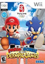 Mario & Sonic at the Olympic Games for wii [video game] - $7.95