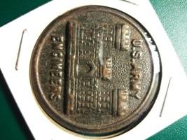 1940's Tin U.S. Army Corps Engineers Coin - $14.85