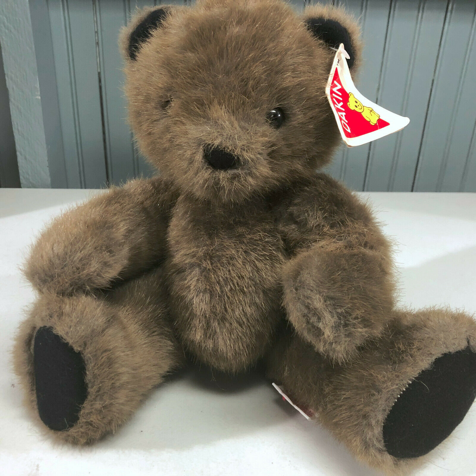 Primary image for Dakin 1990 Stuffed Phillip Bendable Bear Stuffed Animal New With Tags