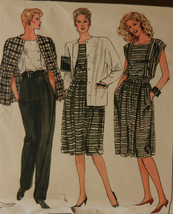 VOGUE Vtg Sewing Pattern 8617 Misses Jacket Skirt Pant Shorts Top 14 16 ... - $19.79