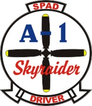 """Official USAF SPAD Driver Decal 4"""" Wide x 4.64"""" High - $11.87"""