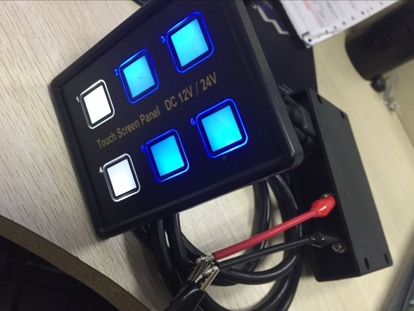 6 Output Relay Switch Panel Touch And 50 Similar Items On Off Control Caravan Rv 4wd Atv Utv