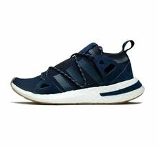 adidas Originals Womens Arkyn Trainers Dark Blue All Sizes RRP 129.99 GBP - $50.67