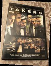 TAKERS Paul Walker Idris Elba DVD - $5.00