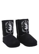 Disney Alice In Wonderland Slipper Boots Curiouser And Curiouser Medium 7/8 - £27.23 GBP