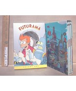Futurama Season 1 DVD TV Series 3 Disc Box Set TESTED Sci-Fi Animated Co... - $6.49