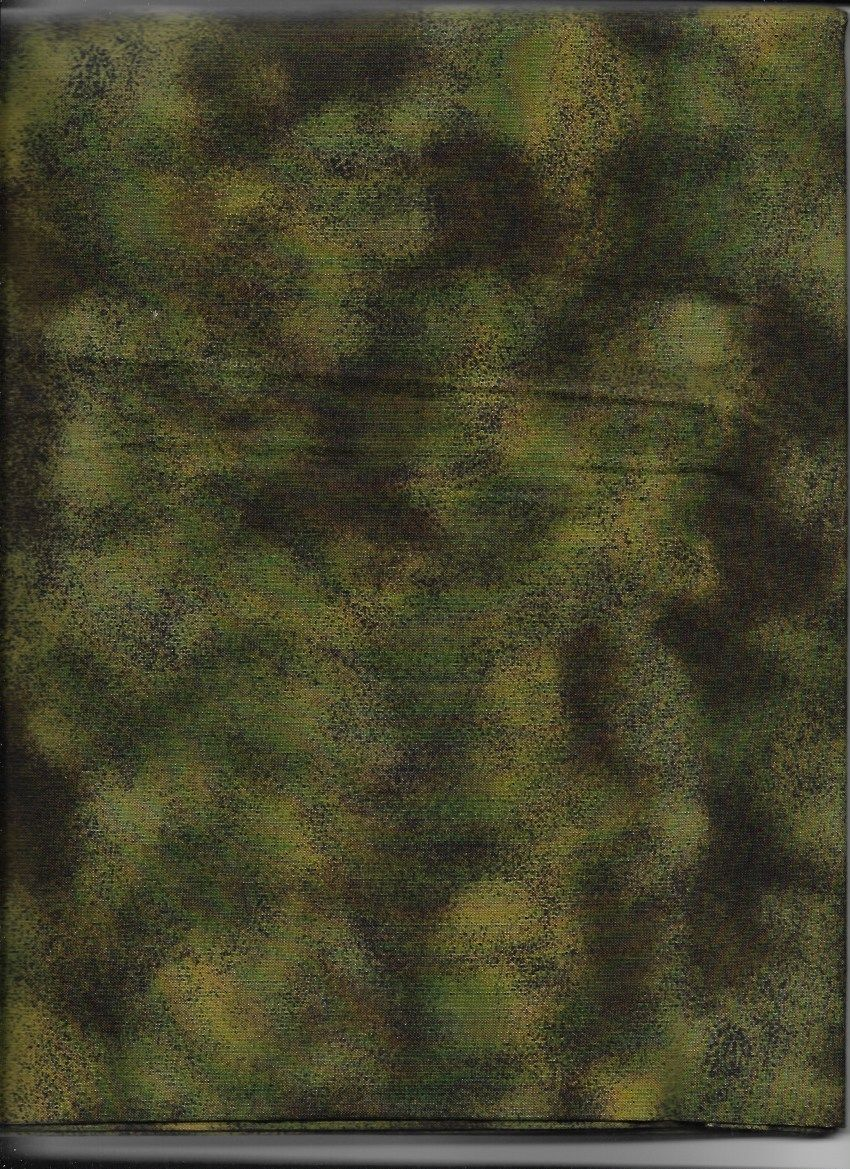 New Green Antique Crackle 100% Cotton Fabric by the 1/4 Yard