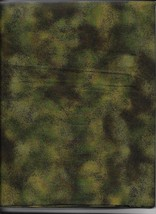New Green Antique Crackle 100% Cotton Fabric by the 1/4 Yard - $2.48