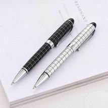 Black Pen Ballpoint Metal Gift Ball Pens Office Signature Writing Style ... - $6.57