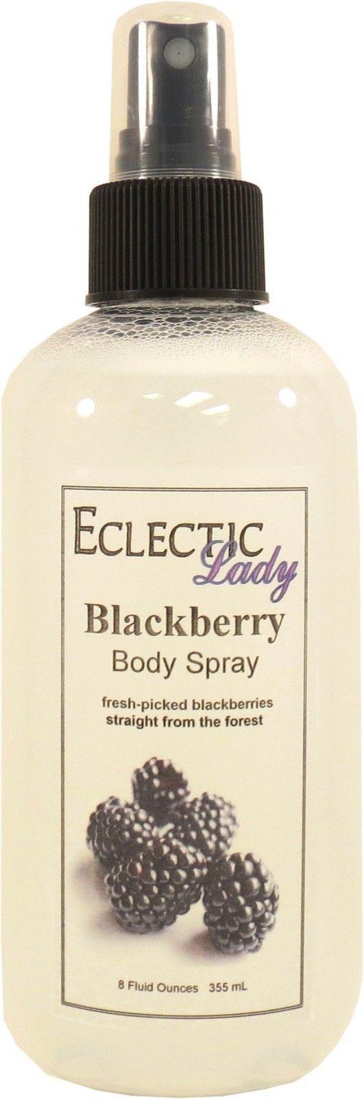 Blackberry Body Spray