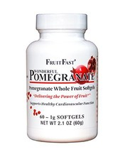 FruitFast - Wonderful Pomegranate Softgels - $21.95