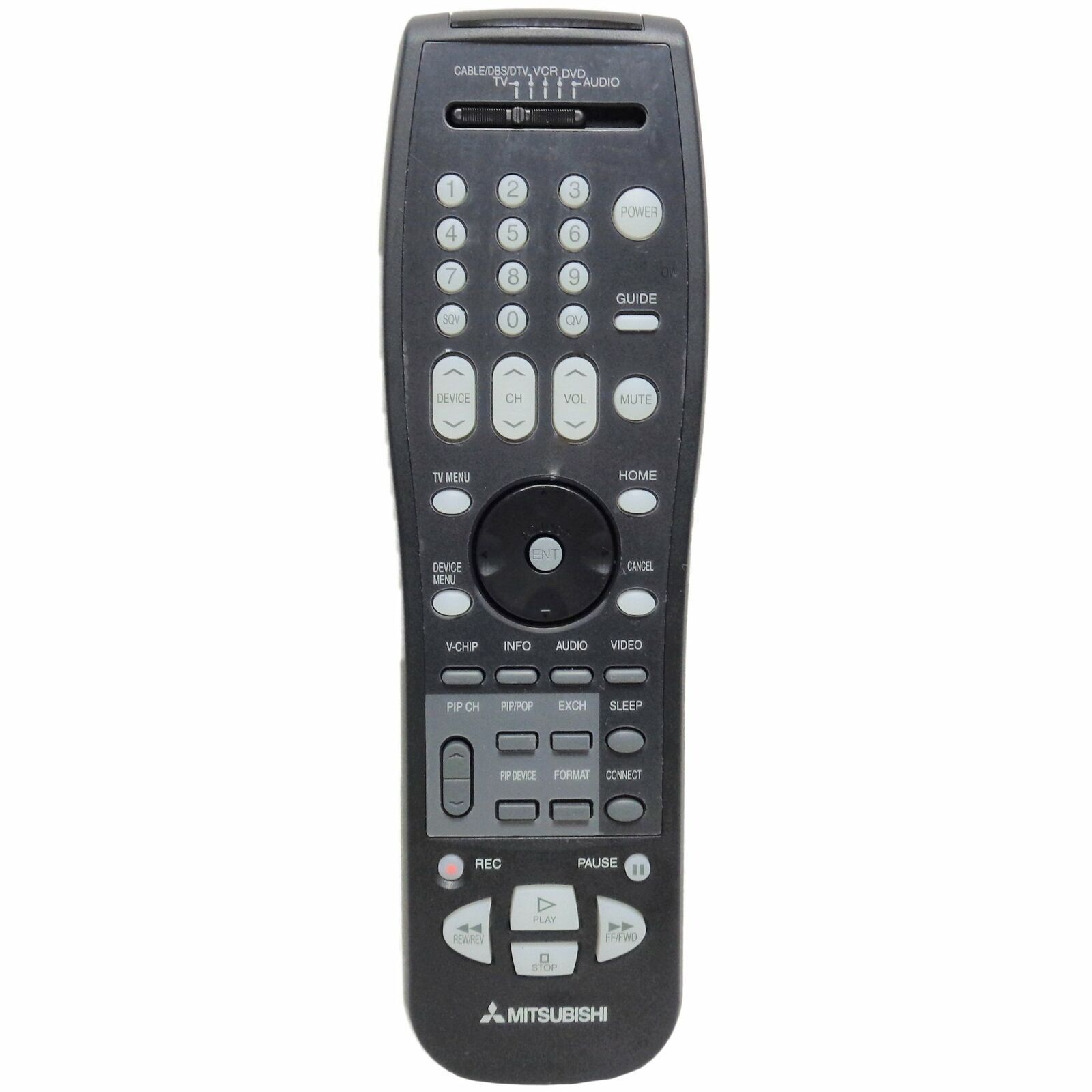 Mitsubishi 290P117D10 Factory Original EUR7616Z2C TV Remote For Select Model's - $15.99
