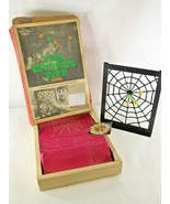 1968 Multiple Toymakers 3-D Molded Plastic The Spider's Web Game  - £12.45 GBP