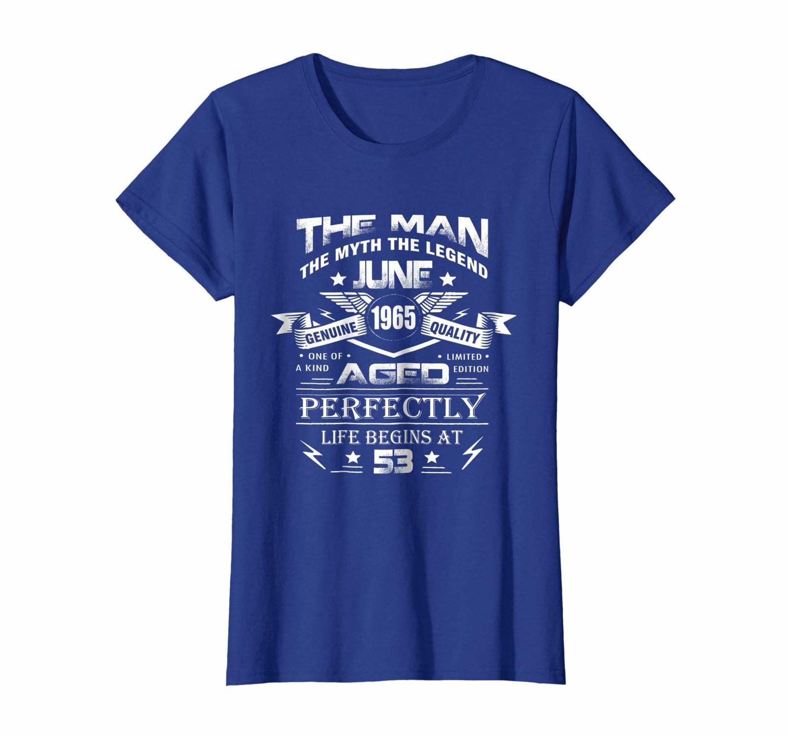 Uncle Shirts -   June 1965 Shirt - 53th Birthday Gift Idea for Men And Women Wow image 2