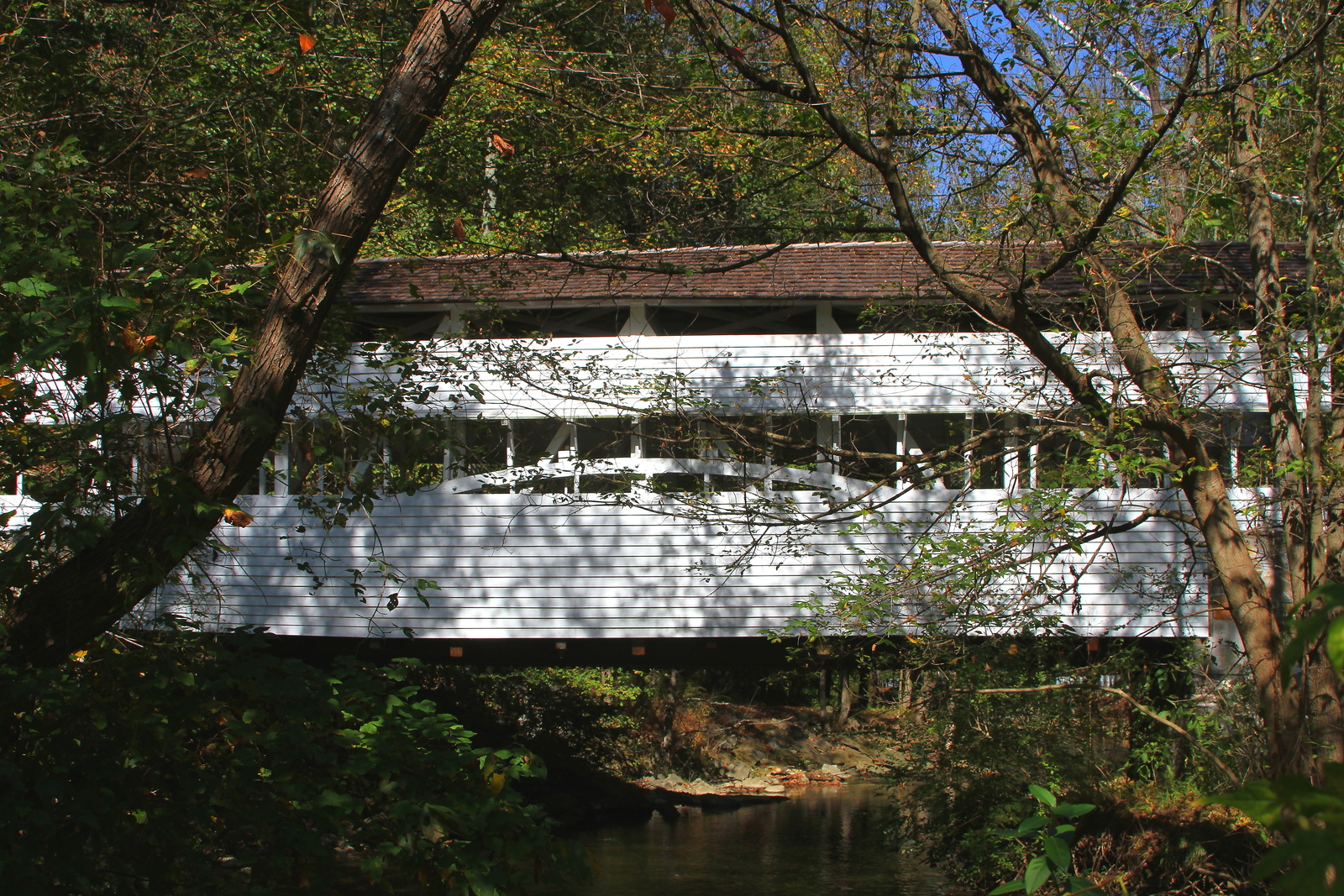 Primary image for Knox Covered Bridge 13 x 19 Unmatted Photograph