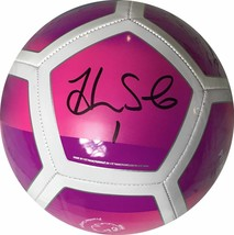 Autographed/Signed HOPE SOLO Pink Nike Team USA USWNT Soccer Ball JSA CO... - $99.99