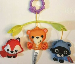 Fisher Price 3 in 1 Crib Mobile Woodland Friends Musical Lullaby PLUSH PART ONLY - $7.83