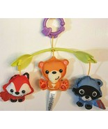 Fisher Price 3 in 1 Crib Mobile Woodland Friends Musical Lullaby PLUSH P... - $7.83