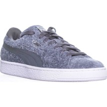 Puma Elemental Fashion Sneakers, Steel Gray White, 7 US / 37.5 EU - $53.75