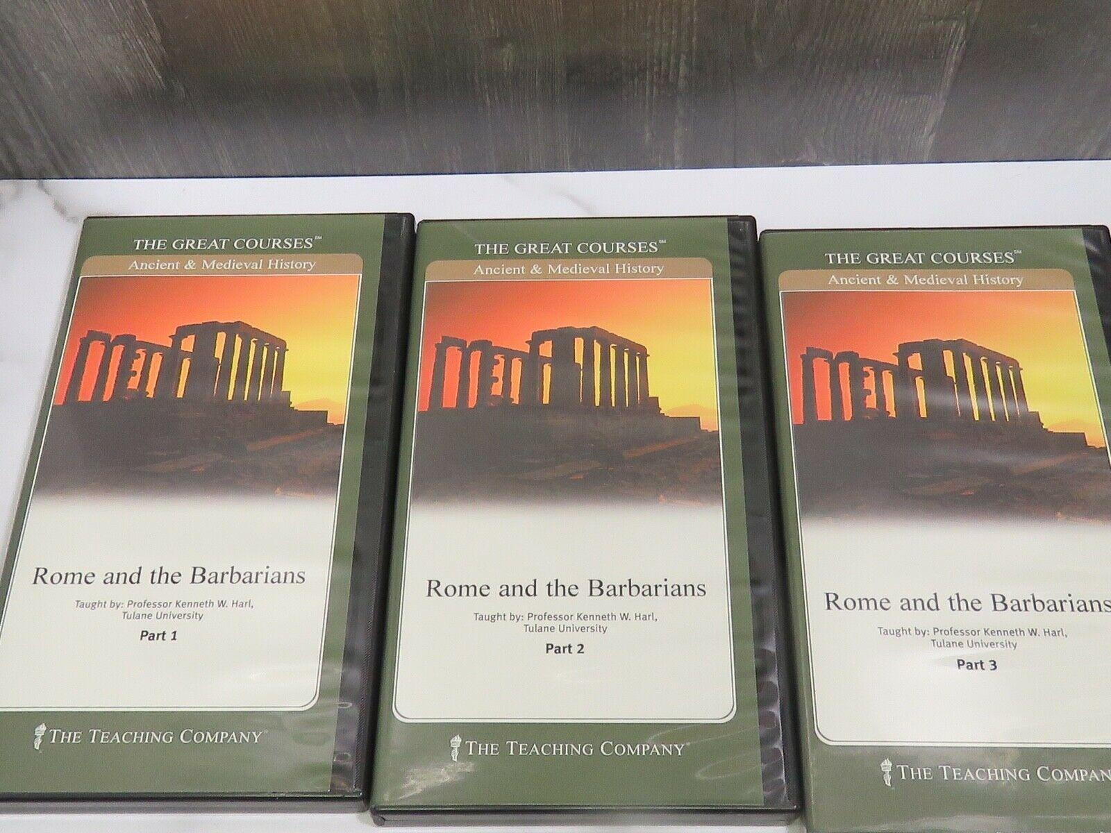 Primary image for Great Courses Ancient & Medieval History Pt 1-3 Tulane U Rome & Barbarians Harl